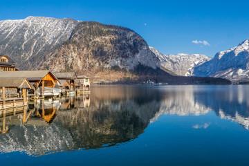 Hallstatt Lake, Austria