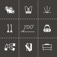 Vector Schoolbook icon set