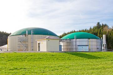 Biogasanlage auf der schwäbischen Alb