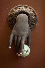 Aladaba antigua de mano