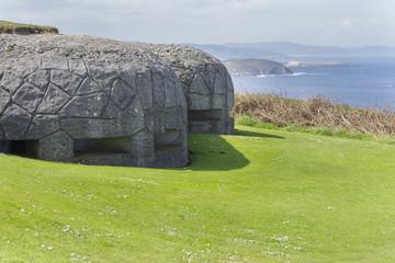 Bunker militar.