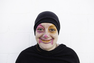 Happiness in clown