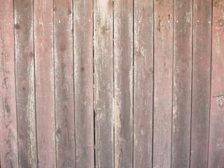 茶色の木の塀