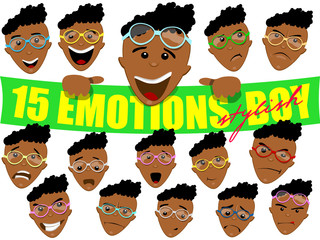 Boy face Emotions