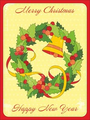 Postcard New Year