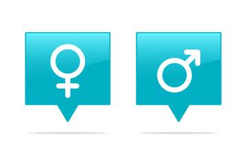 Female & Male Tags