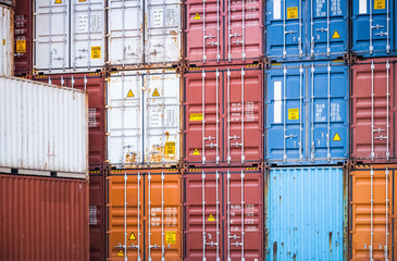 containers closeup
