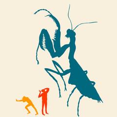 color mantis
