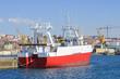 old fishing trawler on the dock - 81743102