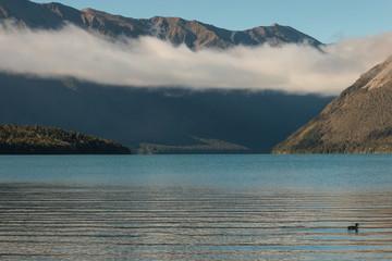 cloud inversion above lake Rotoiti
