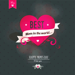 Mothers's Day Greeting Card