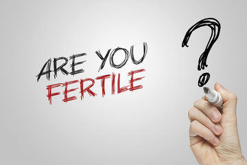 Hand writing are you fertile