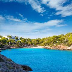 Majorca Cala Dor d Or beach in Mallorca Santanyi