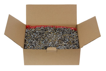 Packing for your metal screws and nuts