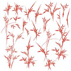 竹のイラスト、