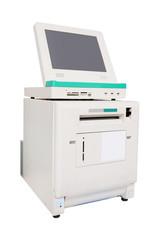 Photo Printer on white background