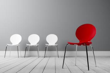 Konzept kreative Führung und Außenseiter