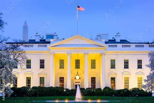 canvas print picture White House in Washington, D.C.