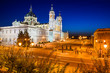 Almudena Cathedral in Madrid, Spain