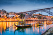 Porto, Portugal Skyline on the Douro River