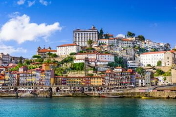 Porto, Portugal Cityscape on the Douro River