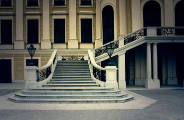 Escalier du Belvedere