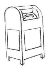 Retro Letterbox Sketch
