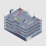 indoor multi-storey car park
