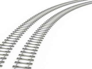 Railway track lines  Raster  Rail 7