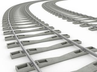 Railway track lines  Raster  Rail 8