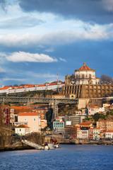 Porto and Vila Nova de Gaia Cityscape in Portugal