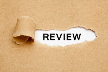 Review Torn Paper Concept