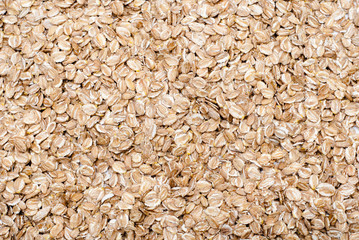 Barley flakes background