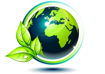 green earth - eco-friendly concept