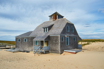 Beach house at Cape Cod