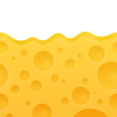 Vector Texture of Cheese
