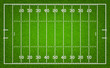 American football field. Vector illustration. - 81761107