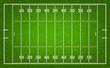 American football field. Vector illustration.