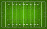 American football field. Vector illustration. - 81761107