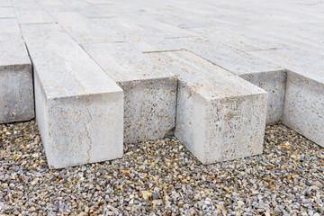 Pflastersteine aus Beton