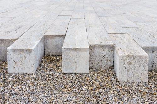 Pflastersteine aus Beton - 81761930