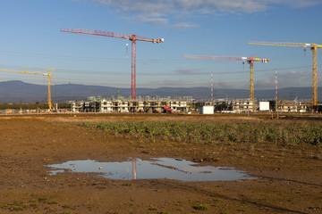 Baustelle Neubaugebiet © Matthias Buehner