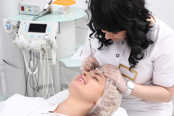 Beauty skin care cosmetics and health concept