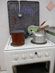 Küchenherd im Stil der 50er Jahre - Bild -