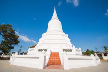 """Thai pagoda of """"Wat Wang"""" temple at Pattalung province Thailand"""