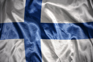 shining  finnish flag