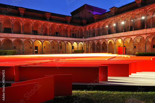 Fotobehang Artistiek mon. Milano Design Week 2015 - Fuorisalone - Università Statale