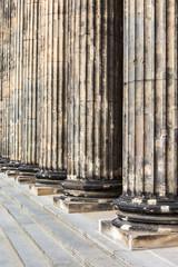 Verwitterte Säulen