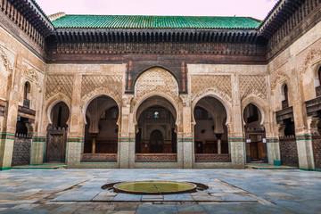 Madrasah in Fez Morocco