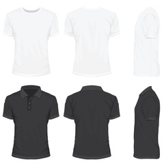 T-Shirt in White and Black Color